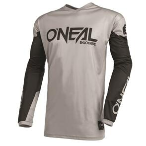 ONEAL 2022 ELEMENT THREAT JERSEY - GRAY/BLACK