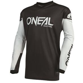ONEAL 2022 ELEMENT THREAT JERSEY - BLACK/WHITE (ADULT)