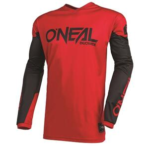 ONEAL 2022 ELEMENT THREAT JERSEY - RED/BLACK (ADULT)