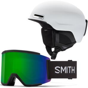 SMITH 2022 MAZE HELMET + SQUAD XL COMBO