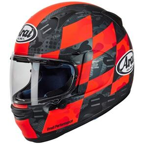 ARAI 21 PROFILE V PATCH RED