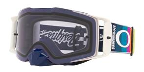 OAKLEY FRONT LINE - TLD GRAPH WHITE MX GOGGLES WITH PRIZM LOW LIGHT LENS