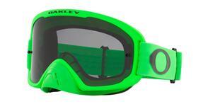 OAKLEY O FRAME 2.0 PRO - MOTO GREEN MX GOGGLES WITH DARK GRAY LENS