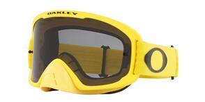 OAKLEY O FRAME 2.0 PRO - MOTO YELLOW MX GOGGLES WITH DARK GRAY LENS