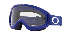 OAKLEY O FRAME 2.0 PRO XS - MOTO BLUE MX GOGGLES WITH CLEAR LENS