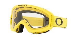 OAKLEY O FRAME 2.0 PRO XS - MOTO YELLOW MX GOGGLES WITH CLEAR LENS