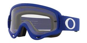 OAKLEY O FRAME - MOTO BLUE MX GOGGLES WITH CLEAR LENS
