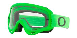 OAKLEY O FRAME - MOTO GREEN MX GOGGLES WITH CLEAR LENS