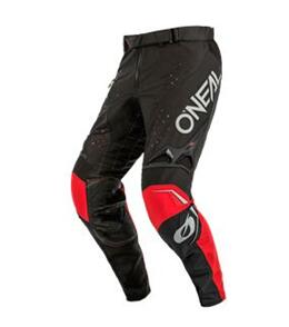 ONEAL 2022 FIVE ZERO - PANTS - BLACK/GRAY/RED (ADULT)