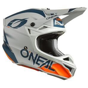 ONEAL 2022 5 SERIES HELMET - HAZE - BLUE/ORANGE