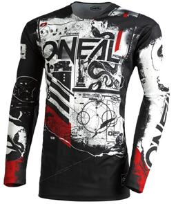 ONEAL 2022 MAYHEM JERSEY AND PANTS SCARZ - BLACK (YOUTH)
