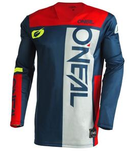 ONEAL 2022 HARDWEAR JERSEY - AIR SLAM - BLUE/RED (ADULT)