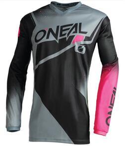 ONEAL 2022 ELEMENT RACEWEAR COMBO BLACK/GRAY/PINK WOMENS
