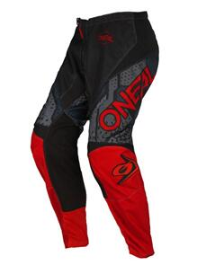 ONEAL 2022 ELEMENT PANTS - CAMO BLACK/RED (ADULT)