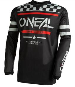 ONEAL 2022 ELEMENT JERSEY AND PANT SQUADRON - BLACK/GRAY
