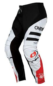 ONEAL 2022 ELEMENT PANTS - SQUADRON - WHITE/BLACK (ADULT)