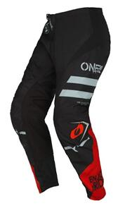 ONEAL 2022 ELEMENT PANTS - SQUADRON - BLACK/GRAY (ADULT)