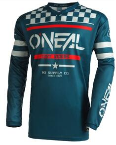 ONEAL 2022 ELEMENT JERSEY - SQUADRON - TEAL/GRAY (ADULT)