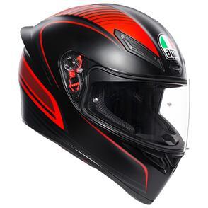 AGV K1 [WARMUP BLACK/RED]