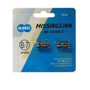 KMC CONN LINK 1/2X3/32 KMC MISSING LINK 8/7 SP CL571 2/CD (CD)