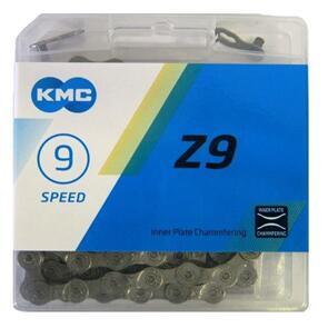 KMC CHAIN 1/2X11/128(3/32) KMC 9SP 114L Z99 (EA)