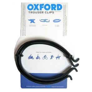 OXFORD TROUSER BANDS OXFORD PVC COATED  BLACK TC954 (PR)