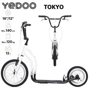 "YEDOO SCOOTER YEDOO CITY RUNRUN 16""/12"" TOKYO (EA)"