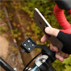 OXFORD PRODUCTS CLIQR OXFORD SMARTPHONE HOLDER OUT-FRONT H/BAR MOUNT OX841 (EA)