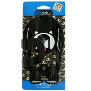 PDW  W/BOTTLE CAGE (VGD) VERY GOOD DOG PDW ALLOY BLACK (EA)