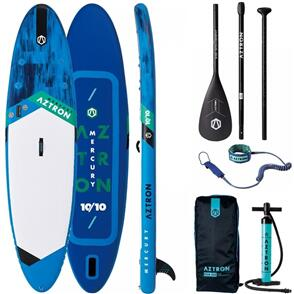 """AZTRON MERCURY 10'10"""" STAND UP PADDLEBOARD PACKAGE"""