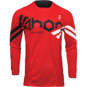 THOR 2022 JERSEY PULSE CUBE RED/WHITE