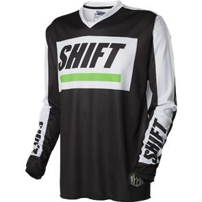 SHIFT RECON CALIBER JERSEY [BLACK/WHITE]