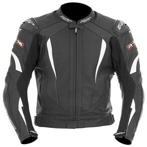 RST R-16 LEATHER JACKET [WHITE]