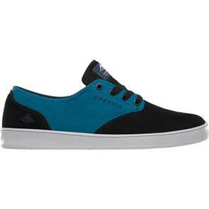 EMERICA THE ROMERO LACED X TOY MACHINE [BLACK/TURQUOISE]