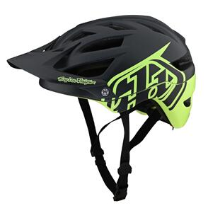 TROY LEE DESIGNS 2021 A1 AS MIPS HELMET CLASSIC GRAY / GREEN