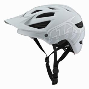 TROY LEE DESIGNS 2021 A1 AS MIPS HELMET CLASSIC LIGHT GRAY / WHITE