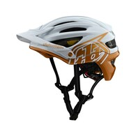 TROY LEE DESIGNS 2020 A2 AS MIPS DECOY PEARL WHITE / GOLD