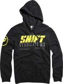 SHIFT STOCKADE ZIP FLEECE [BLACK]