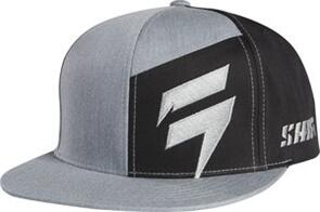 SHIFT CONTRASTED AP SNAPBACK [HEATHER GRAPHITE]