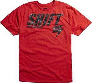 SHIFT TACTICAL SS TEE [RED]