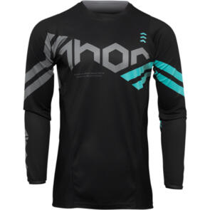 THOR 2022 JERSEY PULSE YOUTH CUBE BLACK/MINT