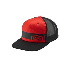 100% QUEST SNAPBACK HAT RED