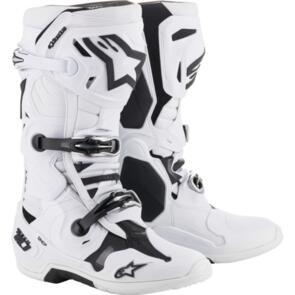 ALPINESTARS 2021 TECH-10 MX BOOTS WHITE
