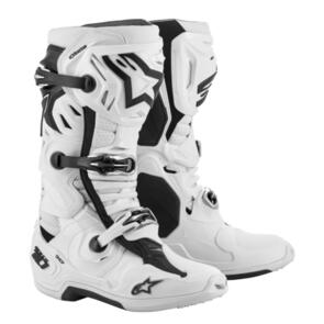 ALPINESTARS 2021 TECH-10 SUPERVENTED BOOTS WHITE