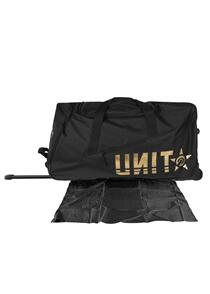 UNIT MENS LUGGAGE - GEAR BAG - DEPARTURE CHARCOAL