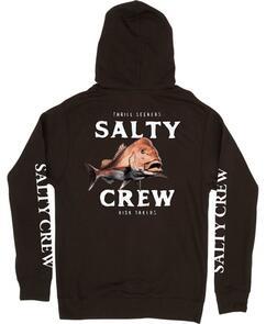 SALTY CREW OL KNOBBY FLEECE BLACK