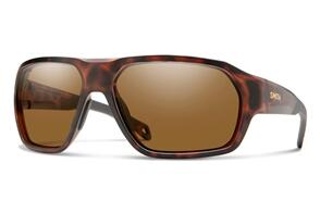 SMITH DECKBOSS MATTE TORTOISE CHROMAPOP POLARIZED BROWN