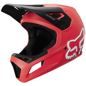 FOX RACING 2021 YOUTH RAMPAGE HELMET CE [BRIGHT RED]