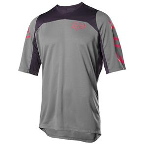 FOX RACING 2020 DEFEND SS FAST JERSEY [PEWTER]
