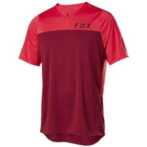 FOX RACING 2020 FLEXAIR ZIP SS JERSEY [CHILI]